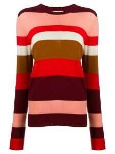 Chinti and Parker striped jumper - Red