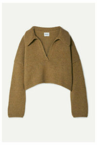 Khaite - Shelly Oversized Cashmere Sweater - Camel
