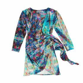 IN. NO - Pink Aria V Neck Sweater