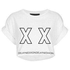 Delayne Dixon - Xx Tee Cropped Graphic Tee