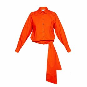 Talented - Low Waist Blouse Orange