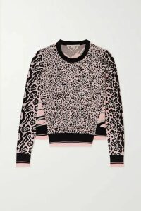 Stella McCartney - Jacquard-knit Sweater - Black