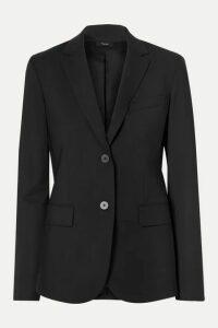 Theory - Classic Stretch-wool Blazer - Black