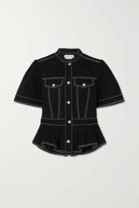 Alexander McQueen - Denim Shirt - Black