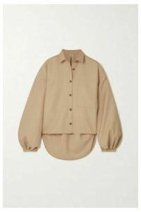 Totême - Novale Oversized Grain De Poudre Shirt - Beige