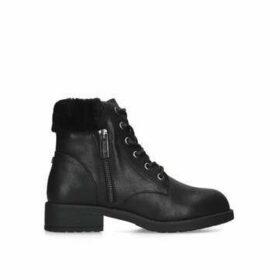 Carvela Comfort Temple - Black Ankle Boots
