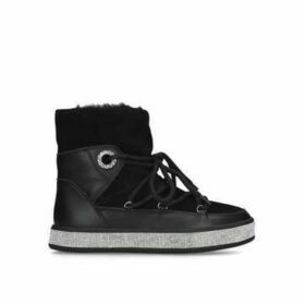 Carvela Techtonic - Black Embellished Snow Boots