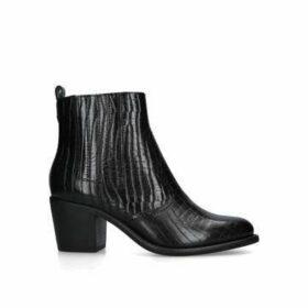 Carvela Spell - Black Block Heel Chelsea Boots