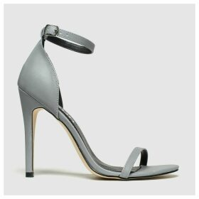 Schuh Silver Passion High Heels