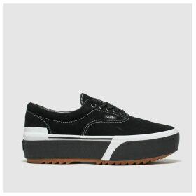 Vans Black & White Era Stacked Trainers