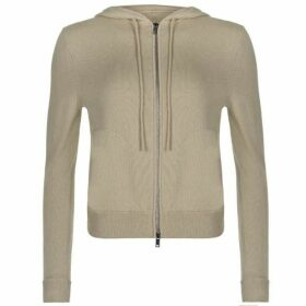 Theory Zip Cashmere Hoodie