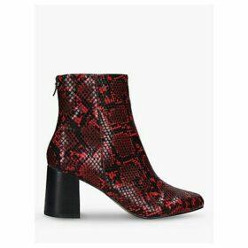 Carvela Smash Block Heel Ankle Boots