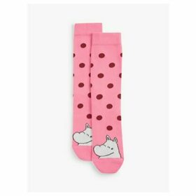 Free People Moonmin Dot Socks, Pink