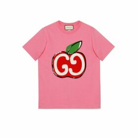 T-shirt with GG apple print