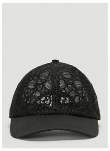 Gucci GG Mesh Hat in Black size S