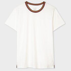 Women's Ivory Double-Breasted Tuxedo Blazer
