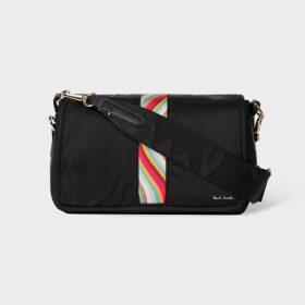 Women's Black Roll-Neck Cashmere Sweater