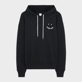 Women's Dark Navy Geometric Intarsia Pattern Funnel Neck Sweater