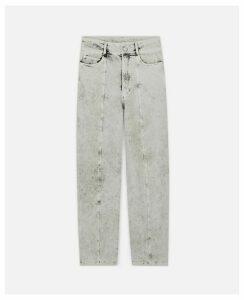 Stella McCartney White The Straight Leg Jeans, Women's, Size 29