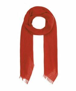 Plain Merino Wool Scarf