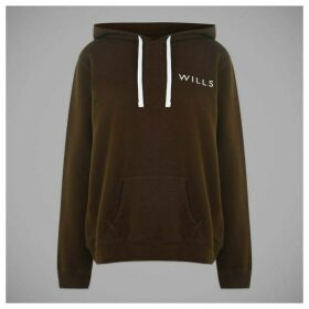 Jack Wills Motherby Relaxed Fit Hoodie - Green