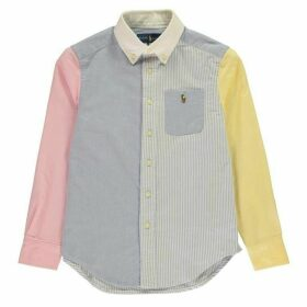 Ralph Lauren Long Sleeve Oxford Shirt - Multi-Coloured