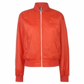 Tommy Jeans Tommy Recycled Bomber Jacket Ladies - Flame Scarlet