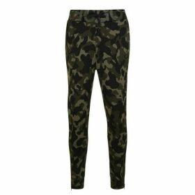 HUGO Duros Camouflage Jogging Bottoms - Khaki Camo