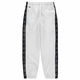 Lacoste Side Logo Jogging Pants - White