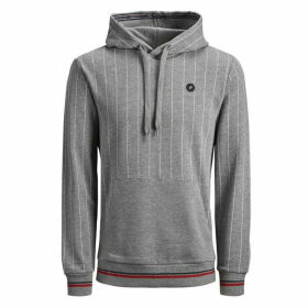 Jack and Jones Junior Pinstripe OH Sweat - Cloud Dancer