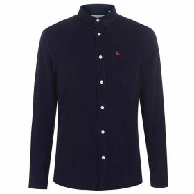 Jack Wills Haynes Baby Cord Shirt - Navy