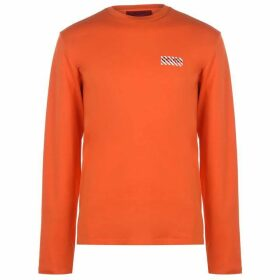 HUGO Dyderabad T Shirt - 821 Brt Orange
