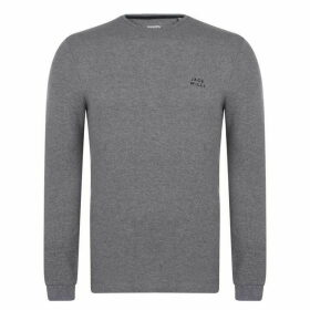Jack Wills Frogwell Long Sleeve T-Shirt - Grey