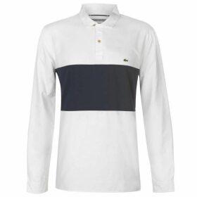 Lacoste 3 Button Shirt - White