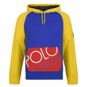 POLO RALPH LAUREN Hi Tech Panel Hooded Sweatshirt - Multi