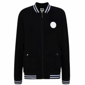 Karl Lagerfeld Skool Team Bomber Jacket - Black