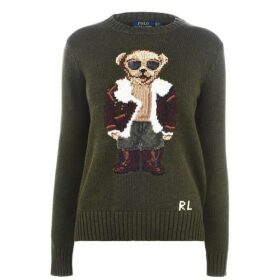 Polo Ralph Lauren Aviator Polo Bear Jumper