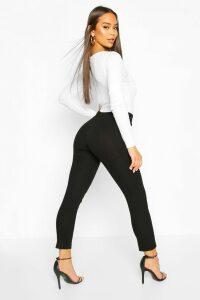 Womens Skinny Stretch Tailored Trouser - black - 8, Black