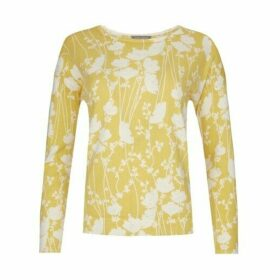 Mimosa Floral Drop Shoulder Jumper