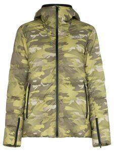 Colmar camouflage print puffer jacket - Green