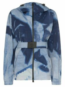 Moncler Giusalet tie-dye ski jacket - Blue