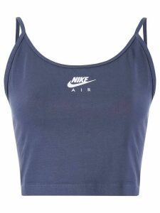 Nike cropped logo tank top - PURPLE
