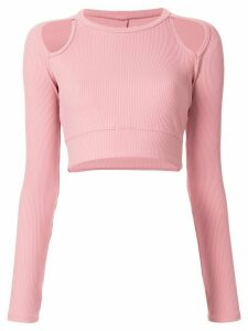 Year Of Ours Michelle crop top - PINK
