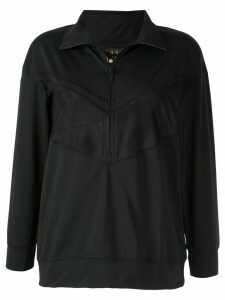 ALALA mesh insert performance sweatshirt - Black