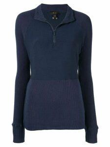 ALALA long sleeve performance sweatshirt - Blue