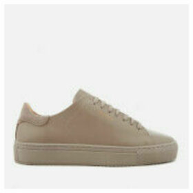Axel Arigato Women's Clean 90 Monochrome Leather Trainers - Taupe - UK 4 - Taupe