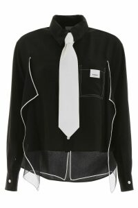Burberry Ruffled Shirt
