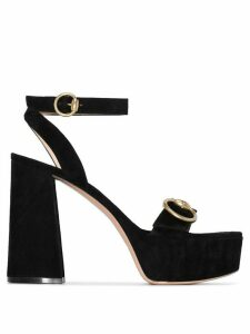 Gianvito Rossi buckled strap chunky sandals - Black