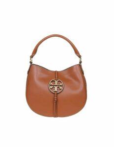 Tory Burch Mini Hobo Leather Hand Bag In Calf Leather
