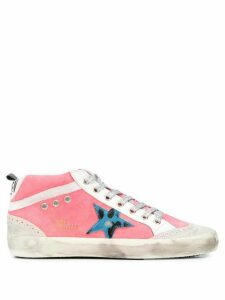 Golden Goose Mid-Star lace-up sneakers - Pink